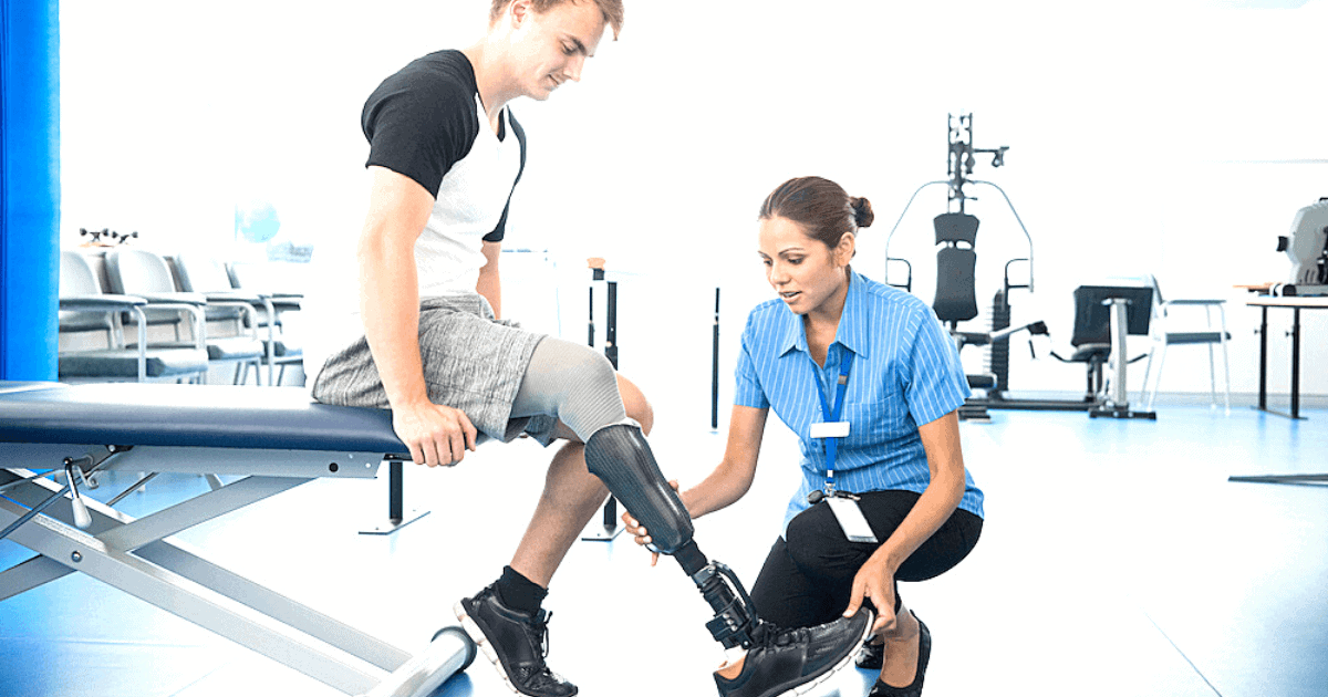 Rehabilitation After a Lower Extremity Amputation
